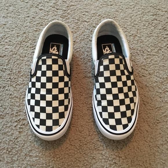 4e7e62752f Vans Shoes - Checkerboard Slip-On Lite Vans